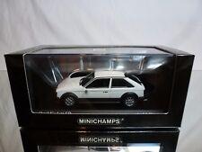 MINICHAMPS 44120 OPEL KADETT SR 1979 - WHITE 1:43 VERY RARE - EXCELLENT IN BOX