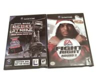 Star Wars Rebel Strike Game Ltd Edition Preview Disc Not For Resale Fight Night