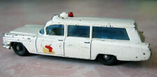 MATCHBOX LESNEY S&S CADILLAC AMBULANCE No. 54 1965 Diecast Model Car England