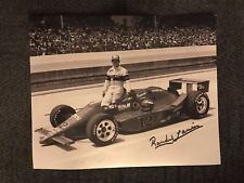 Randy Lanier signed Indy 500 Indianapolis 8 X 10 Photo  Autographed ROY 1986