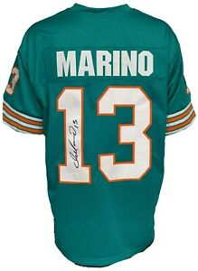 Miami Dolphins Dan Marino Autographed Pro Style Jersey JSA Authenticated