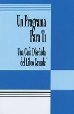 Un Programa para Ti : Una Guía Disenada del Libro Grande (1993, Paperback)