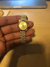 (Vintage/Rare) Rolex Oyster Perpetual Lady 26mm Diamond Champagne Dial 67198