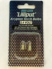 Uni-Lite Lilliput Krypton Torch Bulbs 2.4volt for UK104 Titanium, UK105 Aluminum