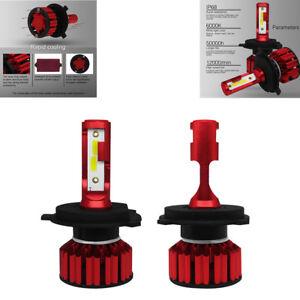 2Pcs High Brightness H4 9003 HB2 100W DOB Car SUV LED Headlight Hi/Lo Beam Bulbs