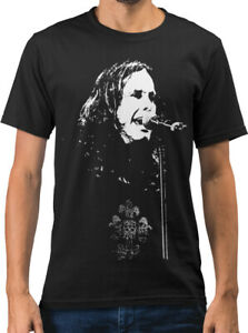 Ozzy Osbourne Rock Icon Caricature New Mens T-shirt