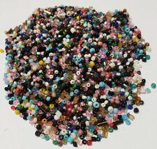 Small Glass Muilti Color Jewlery Beads 50 Grams Craft Beads