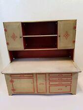 Mid Century Toy Vintage Wolverine Cupboard Hoosier Cabinet