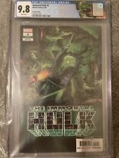 IMMORTAL HULK #2 4th PRINT CGC 9.8  FRYE 1st COVER APPEARANCE Dell Hulk Label