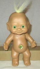 "Ace Novelty 10"" Baby Troll green eyes and wishstone jewel"