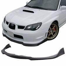 C-speed Front Bumper Lip Spoiler Body kits Fit 2006-2007 Subaru Impreza WRX