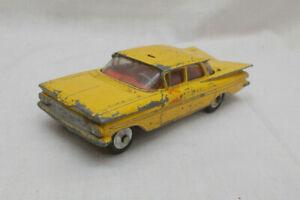 Vintage Corgi Toys 221 Chevrolet Impala Yellow Cab Car - Lot B