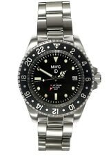 MWC GMT 300m | Quartz Military Watch | Screw Down Crown & Case Back | Date