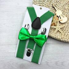 Suspender and Bow Tie Set for Baby Toddler Kids Boys Girls Children - USA QL