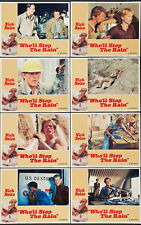WHO'LL STOP THE RAIN original 1978 lobby card set NICK NOLTE 11x14 movie posters
