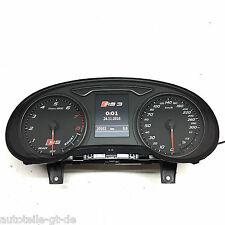 8V0920871L Audi RS3 8V Facelift Kombiinstrument Tacho ACC MFA Cluster 300km/h S3