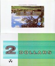 Note Printing in Australia Book & $2 Collector Folder - Matching Serial Number