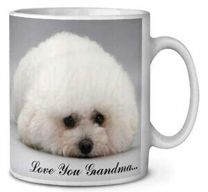 Bichon Frise 'Love You Grandma' Coffee/Tea Mug Gift Idea, AD-BF1LYGMG