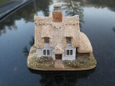 """Thatched Roof Cottage Made in England . Souvenir figurine 3.5"""" By 3.25"""""""