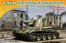 Dragon 7488 1/72 Plastic WWII German 5.5cm Zwilling Flakpanzer
