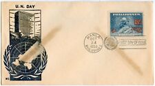Philippine 1959 United Nation Day FDC
