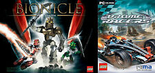 Lego - 2 Games 3 Disc-Bionicle + Drome Racers-FSK 7 nuevo + infolie - 98/me/xp *