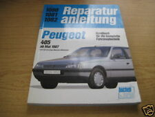 Repair Manual Peugeot 405 From 1987