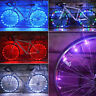 20LED Bike Bicycle Cycling Rim Lights LED Wheel Spoke Light String Strip Lamp AA
