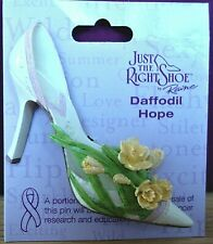 Just The Right Shoe - Daffodil Hope brooch (see other items for 9 more brooches)