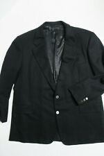 HICKEY FREEMAN Black Blazer 47R Sport Coat Jacket