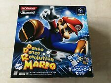 DANCE DANCE REVOLUTION WITH MARIO NEW GAME CUBE GAMECUBE GC JAP KONAMI