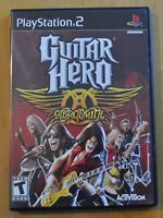 PS2 Game - Guitar Hero Aerosmith, Complete with Manual, Original Owner FREE SHIP