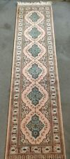 Antique Hand Woven Pakistani Runner 2.7x10 ft