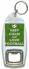 Keep Calm And Love Football – Bottle Opener