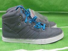 new men adidas hi top gray shoes g48446 Size 9-9.5