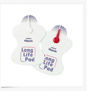 2pads 1 pack Omron Long Life Pads for Omron TENS Machine Clearance Sale