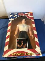"Vintage Over the Top Sylvester Stallone Lincoln Hawks 16"" Lewco w/ Box NRFB 1986"