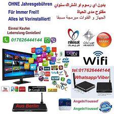 Arabische TV Box Neu 100% Ohne Abo Frei Für Immer+ Mit Garantie,`