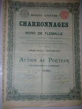 action aandeel CHARBONNAGE STEENKOLENMIJNEN  nord de flemalle