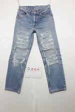 Levi's slim fit custom wild Wildschwein jeans gebraucht Cod.D859 Größe 44 W30