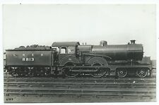 LONDON & NORTH EASTERN RAILWAY - LNER Steam Loco no. 8813  Real Photo Postcard