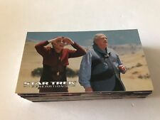 Star Trek Generations 72-card complete set + 3-card foil set (Skybox; 1994)