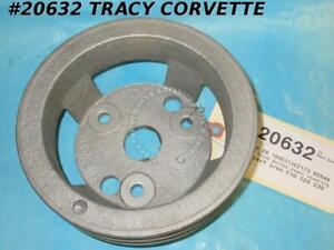 1963-1965 Chevrolet Truck Pulley 3876326 Power Steering 2 Groove C10 C20 C30