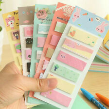 Cute 160 Pages Stickers Post It Bookmark Memo Flags Sticky Notebook Sticker