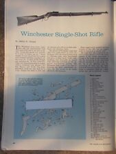 Vin. 1968 2pp art #1 for Winchester Single-shot Rifle with exploded view