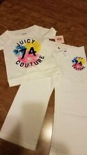 Juicy Couture Toddler Girl Jogging Set ~ White ~ size 3