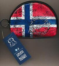 Robin Ruth coin purse with Norwegian Flags