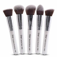 Pro Foundation Makeup Cosmetic Brush Set by NANSHY, Dense Soft Synthetic Bristle
