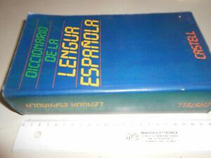 libro : DICCIONARIO DE LA LINGUA ESPAGNOLA -CASTELL -1986--