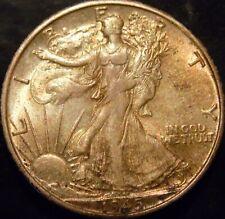 1945-S Walking Liberty Half Dollar Choice BU Uncirculated